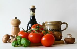 Productos típicos de la alimentación vegetariana