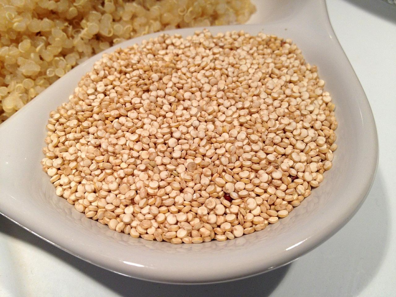 La quinoa un superalimento alto en hierro