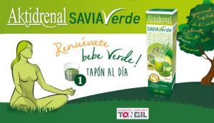 Consumir aktidrenal Savia Verde nos ayudará a regenerar nuestras células